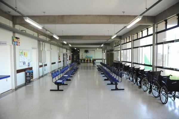 Sala de espera da USE.
