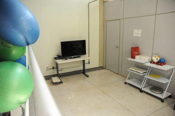 Sala de realidade virtual.