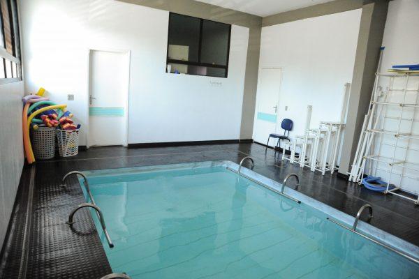 Foto da piscina.