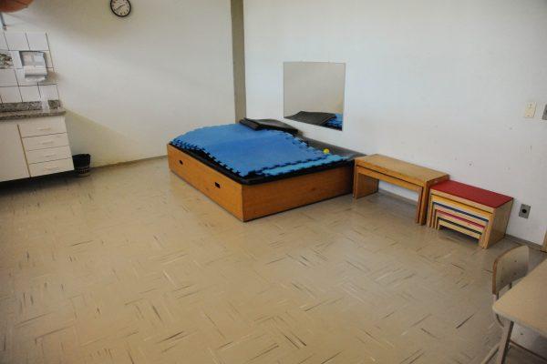 Sala de estimulação visual.